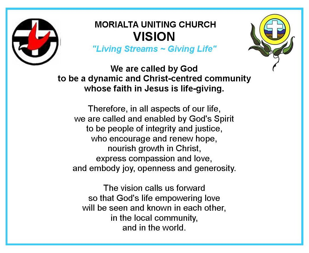 Our Church Morialta Uniting Church