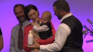 "Click here to see Baptism clip or go to our home page – Our Video Links – ""Special Event"" to see full Baptism."