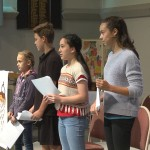 Children and youth present at the BOW service