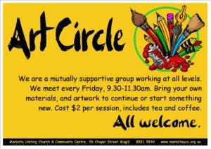 Art Circle flyer