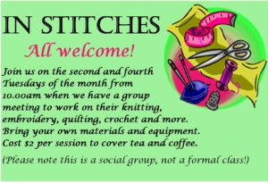 In Stitches poster