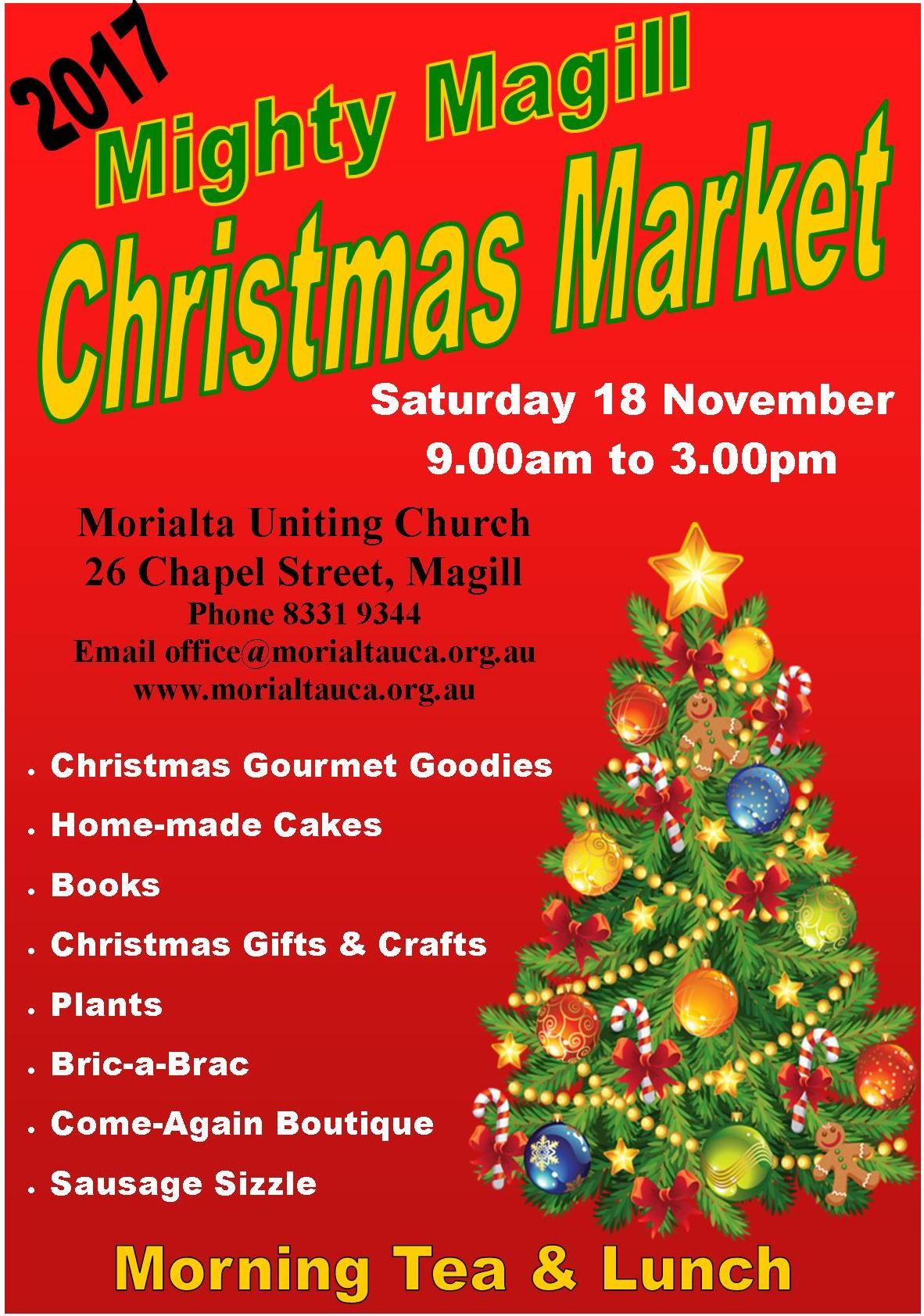 2017 Mighty Magill Christmas market